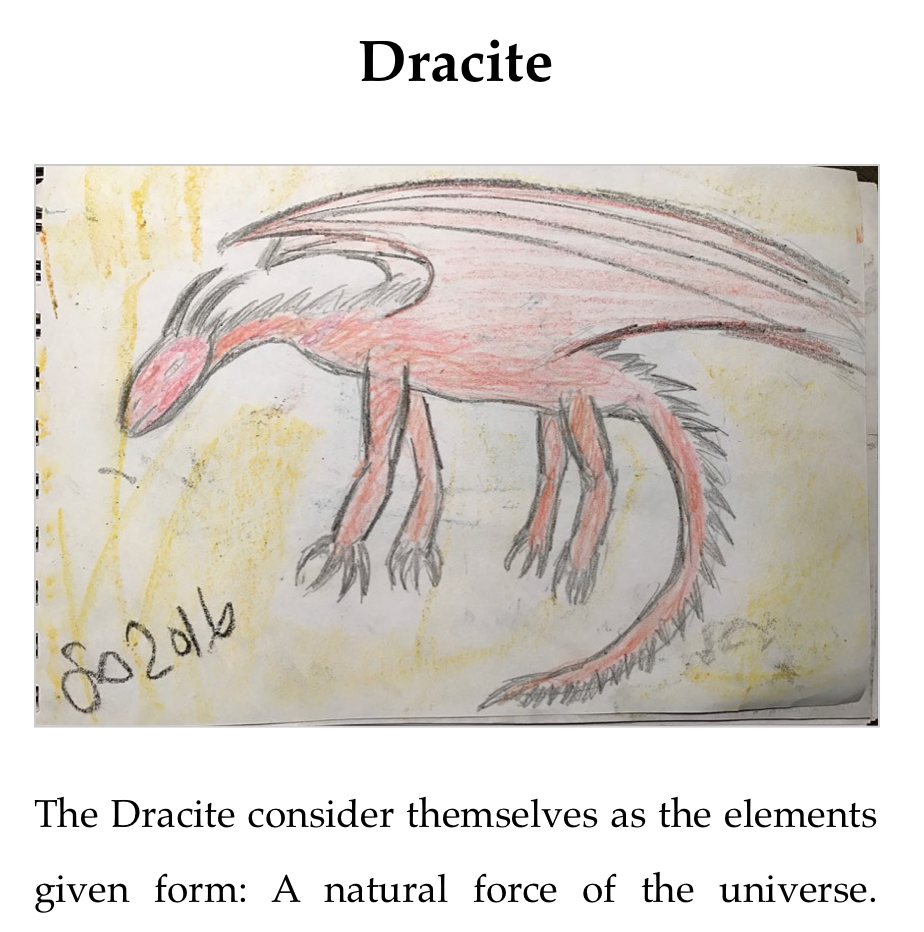 Appendix Section for the Dracite