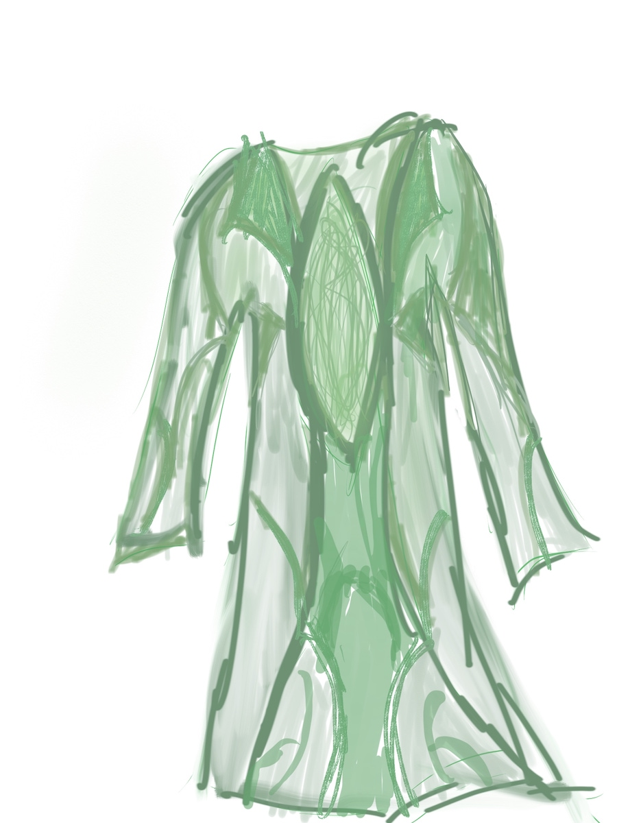 My robe sketch